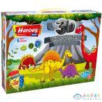 Play-Dough: Heroes Dinoszauruszos Gyurma Szett 21Db-os (ER Toys, ERN-568)