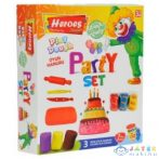 Play-Dough: Heroes Party Gyurma Szett 7Db-os (ER Toys, ERN-590)