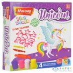Play-Dough: Heroes Unikornis Gyurma Szett 15Db-os (ER Toys, ERN-586)