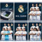 Real Madrid 54 Lapos Sima Füzet A/4 (Eurocom, 62632)