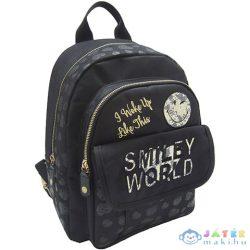 Smiley World Fekete Divat Hátizsák (Eurocom, 53298)