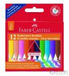 Faber-Castell 12 Db-os Radírozható Vékony Zsírkréta Készlet, (Faber-Castell, 122520)