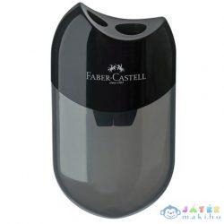 Faber-Castell: Dupla Tartós Műanyag Hegyező Fekete (Faber-Castell, 183500)