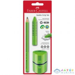 Faber-Castell: Grip Jumbo Írószer Szett Zöld (Faber-Castell, 580091)