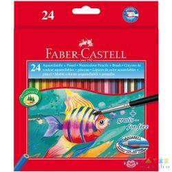 Faber-Castell: Halas Aquarell Színes Ceruza 24Db-os (Faber-Castell, 114425)