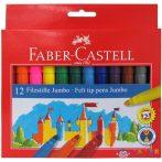 Faber-Castell: Jumbo Filctoll Készlet 12Db-os (Faber-Castell, 554312)