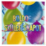 Boldog Születésnapot Feliratos, 20 Darabos Szalvéta (Festa, 446126-R)