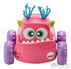 Fisher-Price: Felhúzható Szörnyjárgány - Rózsaszín (Mattel, DRG16-R)