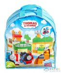 Thomas: Mega Bloks Kalandozások Sodorban 70 Darabos Építőkocka Készlet (Mattel, DXH56)
