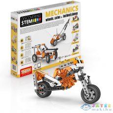 Engino Discovering Stem Mechanics Építőjáték - Kerekek és tengelyek (Formatex, STEM02)