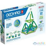 Geomag: Classic Green Line Mágneses Építőjáték - 60 Darabos (Formatex, 20GMG00272)