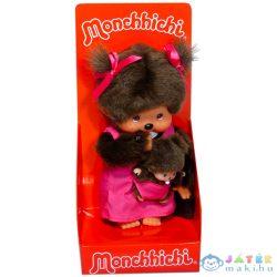 Monchhichi Anyuka És Kicsinye 20Cm Rózsaszín (Formatex, MCC236200)
