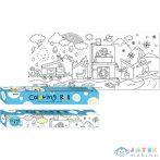 A Víz Utazása - Színezhető, Ragasztható Tekercs - 31X 355 Cm (Fűzfő, 29002)