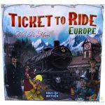 Ticket To Ride Europe - Vasúti Társasjáték (Gamer, 920-182)