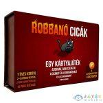 Robbanó Cicák Kártyajáték (Gemklub, ASM34566)