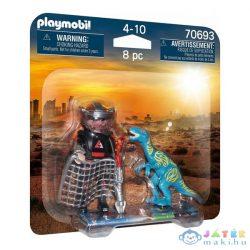Playmobil: Hajsza A Velociraptor Után - Duo Pack 70693 (geobra, 70693)