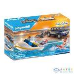 Playmobil: Pick-Up Utánfutóval És Csónakkal 70534 (geobra, 70534)