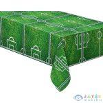 Focipálya Mintás Asztalterítő, 120 X 180 Cm (GoDan, 86871)