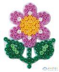 Hama Vasalható Gyöngy Alaplap Midi - Kicsi Virág (HAMA 327)