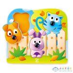 Hape Fogantyús Puzzle - Bébi Állatok (Hape, HP E1309A)