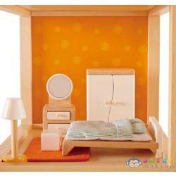 Hape Hálószoba Bútor - Babaházhoz (Hape, HP E3450A)