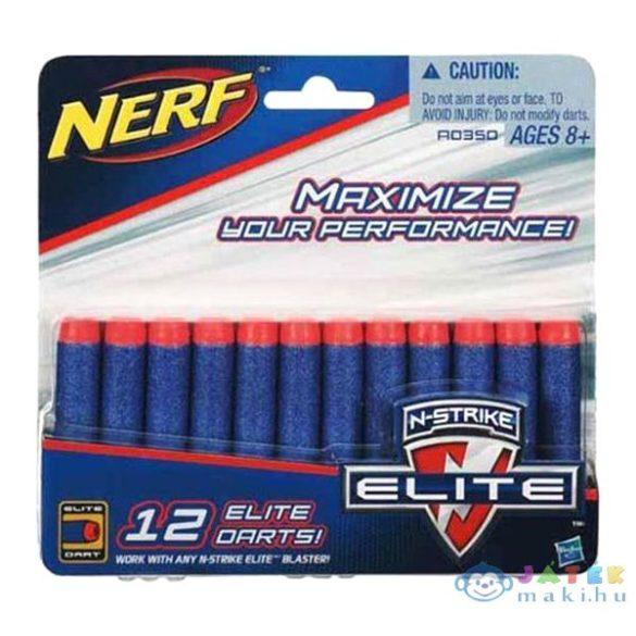 Nerf N-Strike Elite: Kék Lőszer Utántöltő Készlet - 12 Db (Hasbro, A0350)