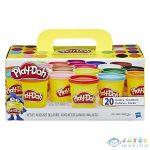 Play-Doh 20 Tégelyes Színes Gyurma Készlet (Hasbro, A7924)