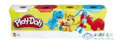 Play-Doh: 4 Darabos Gyurma Készlet - Vegyes Színekben (Hasbro, B5517)