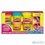 Play-Doh: 6 Darabos Csillámos Gyurmaszett (HASBRO, A5417)
