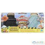 Play-Doh: Kerekek - Aszfalt És Cement Gyurmakészlet (HASBRO, E4508)