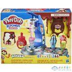 Play-Doh: Konyha Variációk - Drizzy Fagyizó Gyurmaszett (HASBRO, E66885)