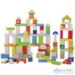 Fa Építőkészlet 100 Darabos (Hausmann, 2102A)