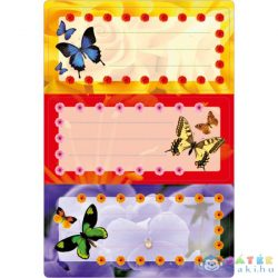 Herma: Pillangós Füzet Címke (Herma, 5574)