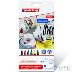 Ico: Edding 4200/6 Porcelán Ecsetirón Marker 6Db (ICO, 7580206000-928149)