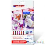 Ico: Edding 4200/6 Porcelán Ecsetirón Marker Meleg Színek 6Db (ICO, 7580206001-928156)