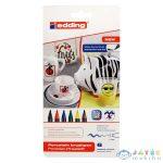 Edding Porcelán Filctoll Készlet - 6 Darabos (ICO, 7580206000)