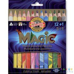 Ico: Koh-I-Noor Magic Háromszögletű Vastag Színes Ceruzakészlet (ICO, 7140094003-248606)