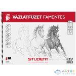 Student Spirál Famentes Vázlatfüzet B/4 (ICO, 7500117002-548355)