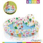 Intex: Gyümölcsös Gyermek Medence Szett ( Medence, Labda, Úszógumi) - 122 X 26 Cm (Intex, 59460NP)