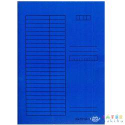 Pólyás Dosszié A4 Méretben 230G Kék (Iskola, 310-0055)