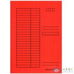 Pólyás Dosszié A4 Méretben 230G Piros (Iskola, 310-0056)