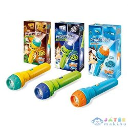 Buki Mini Projektor - 3-Féle - Vadállatok, Űr, Óceán (Játék Bolygó, BUKI6302)