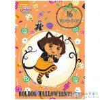 Dóra, A Felfedező: Boldog Halloweent! Fogklalkoztató Könyv (JCS Média, 840695)
