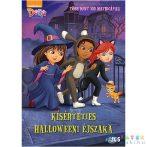 Dóra És Barátai: Kísérteties Halloweeni Éjszaka Matricás Mesekönyv (JCS Média, 670657)