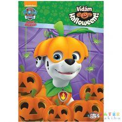 Mancs Őrjárat: Vidám Halloweent! Színező És Foglalkoztató Könyv (JCS Média, 670671)