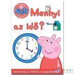 Peppa Malac - Gyakorold Peppával! - Mennyi Az Idő? Foglalkoztató Füzet (JCS Média, 629440)