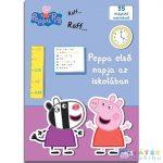 Peppa Malac: Peppa Első Napja Az Iskolában Matricás Foglalkoztató Könyv (JCS Média, 840268)