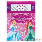 Disney Hercegnők Színező Füzet Strasszos Matricákkal A4 (Jiri Models, 0869-7)