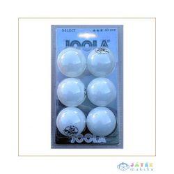 Ping Pong Labda Select, 6Db, 3 Csillagos, Joola (Joola, JO-44100)