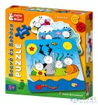 Bogyó És Babóca: 2-4-6 Db-os Puzzle (Keller - Mayer, KM-713212)